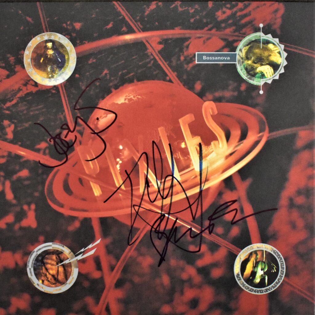 Bossonova autographed vinyl album